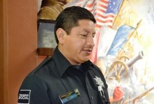 GERARDO VICENTE RAMIREZ CRUZ JEFE DE POLICIA EN CABORCA